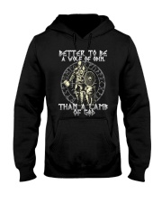 Until Valhalla - A Wolf Of Odin Hooded Sweatshirt thumbnail
