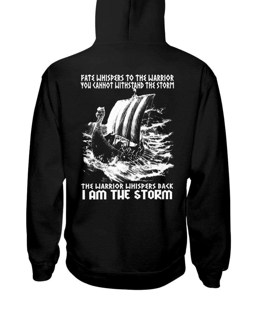 I Am The Storm - Viking Shirt Hooded Sweatshirt