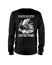 I Am The Storm - Viking Shirt Long Sleeve Tee thumbnail