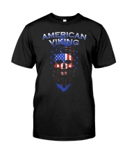 Viking Shirt : American Viking Classic T-Shirt front