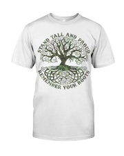 Viking Shirt - Stand Tall And Proud Classic T-Shirt front