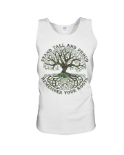 Viking Shirt - Stand Tall And Proud Unisex Tank tile