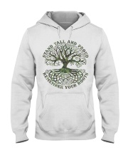 Viking Shirt - Stand Tall And Proud Hooded Sweatshirt tile