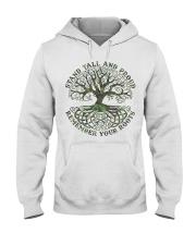 Viking Shirt - Stand Tall And Proud Hooded Sweatshirt thumbnail