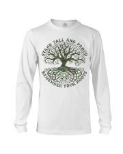 Viking Shirt - Stand Tall And Proud Long Sleeve Tee thumbnail
