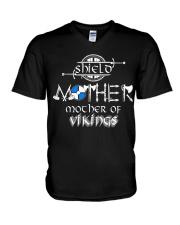 SHIELD MOTHER OF VIKING - VIKING T-SHIRTS V-Neck T-Shirt thumbnail