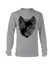 Viking T-shirts - Raven And Wolf Long Sleeve Tee tile