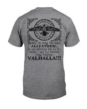 Allfather - Valhalla - Viking Shirts Classic T-Shirt back