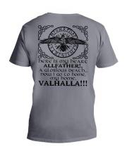 Allfather - Valhalla - Viking Shirts V-Neck T-Shirt thumbnail