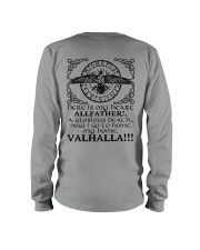 Allfather - Valhalla - Viking Shirts Long Sleeve Tee thumbnail