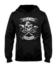 Viking Shirt - Sons of Odin Raven Wolf Hooded Sweatshirt thumbnail