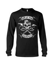 Viking Shirt - Sons of Odin Raven Wolf Long Sleeve Tee thumbnail