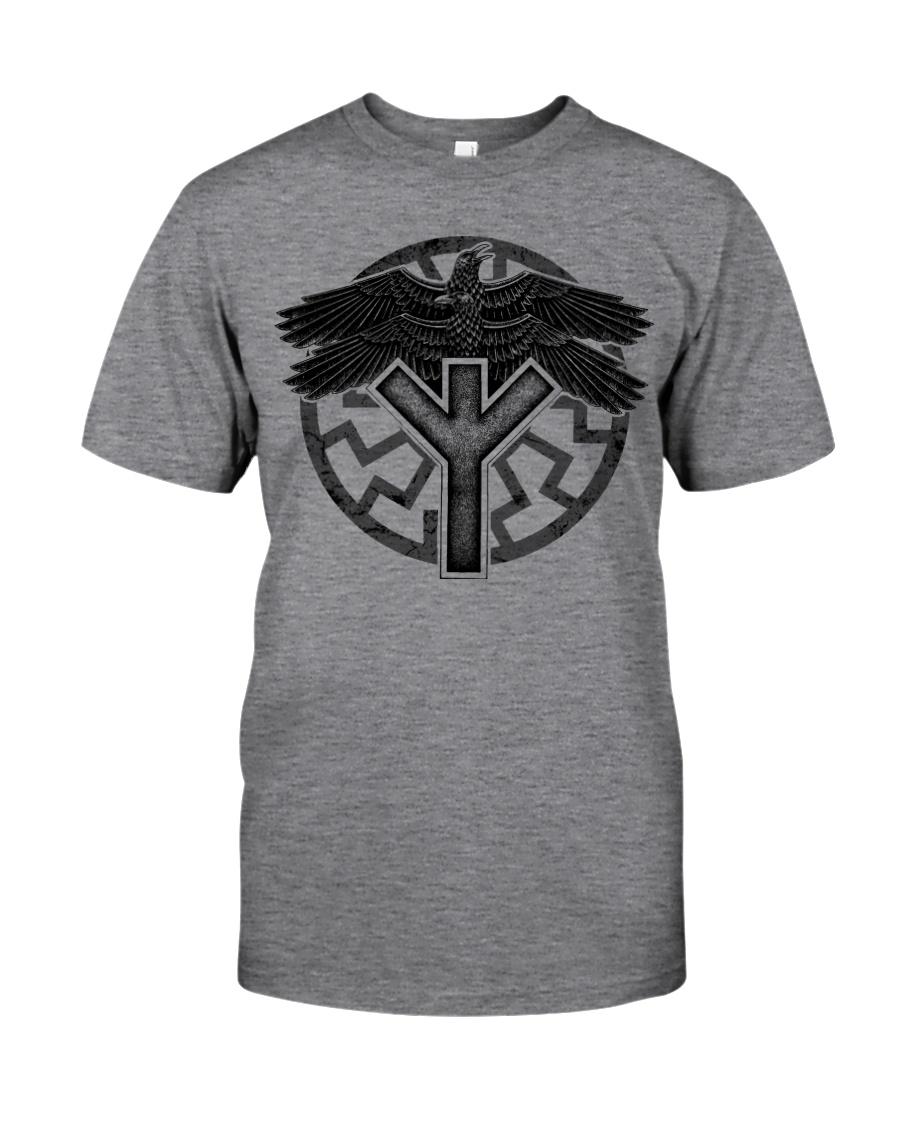 Viking Shirts : Huginn and Muninn : Raven Viking Classic T-Shirt