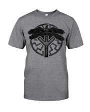 Viking Shirts : Huginn and Muninn : Raven Viking Classic T-Shirt front