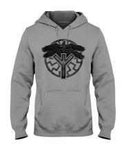 Viking Shirts : Huginn and Muninn : Raven Viking Hooded Sweatshirt thumbnail