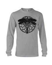 Viking Shirts : Huginn and Muninn : Raven Viking Long Sleeve Tee thumbnail