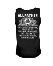 Viking Shirt : Allfather Viking Odin Unisex Tank thumbnail