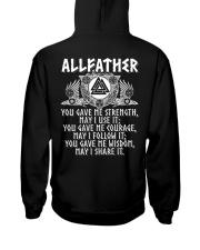 Viking Shirt : Allfather Viking Odin Hooded Sweatshirt thumbnail