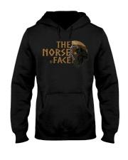 The Norse Face - Odin Raven - Viking Shirt Hooded Sweatshirt tile