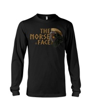 The Norse Face - Odin Raven - Viking Shirt Long Sleeve Tee tile