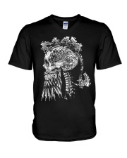 Viking With Weapon Art - Viking Shirt V-Neck T-Shirt thumbnail