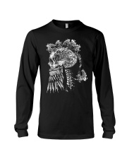 Viking With Weapon Art - Viking Shirt Long Sleeve Tee thumbnail