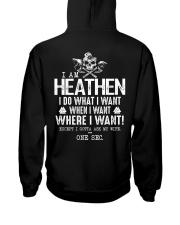 Viking T-shirts : When I Want - Where I Want Hooded Sweatshirt tile