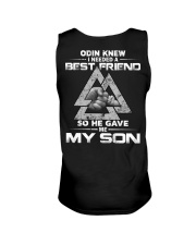 Viking Shirt - Odin Knew I Needed A Best Friend Unisex Tank thumbnail
