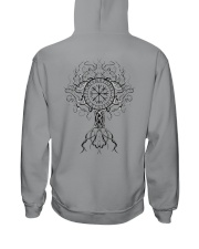 Yggdrasil Viking  - Viking Shirt Hooded Sweatshirt back