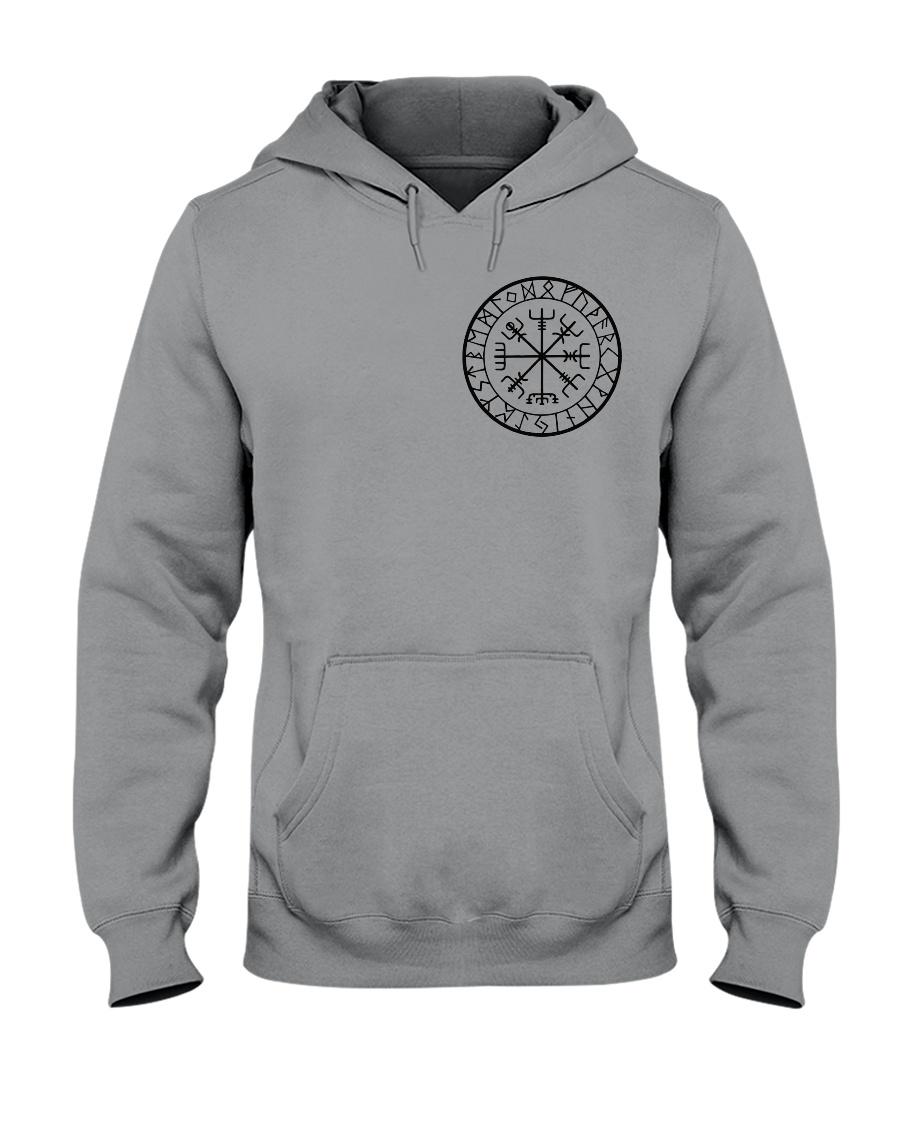 Yggdrasil Viking  - Viking Shirt Hooded Sweatshirt