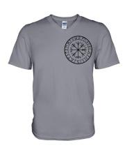 Yggdrasil Viking  - Viking Shirt V-Neck T-Shirt tile