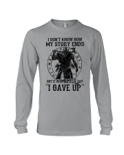 Viking T-shirts : IT WILL NEVER SAY ''I GAVE UP'' Long Sleeve Tee thumbnail