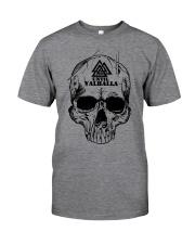Viking T-shirt - Until Valhall - Skull Valknut Classic T-Shirt front