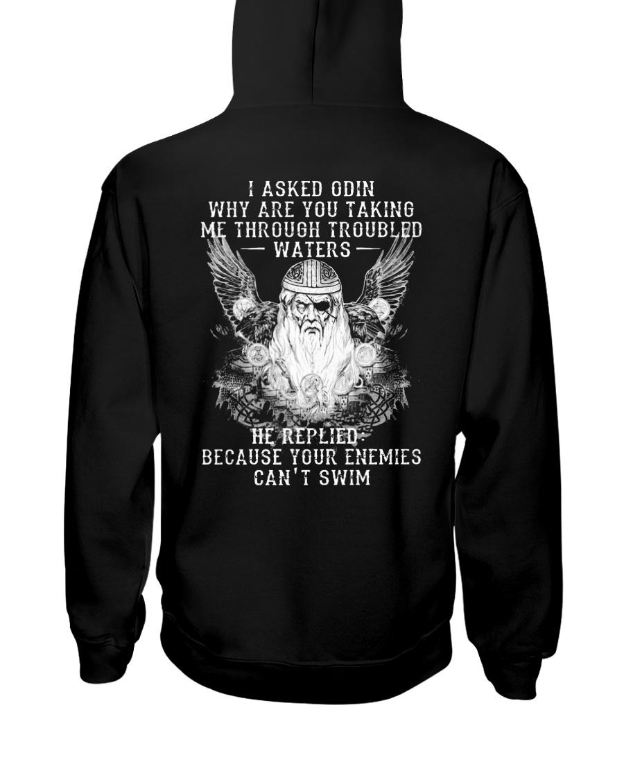 I Asked Odin - Viking Shirt Hooded Sweatshirt