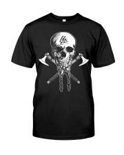 VIKING SKULL BEARD - VIKING T-SHIRTS Classic T-Shirt front