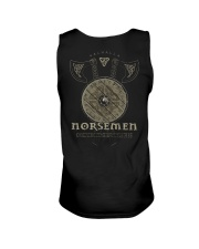 Viking Shirt : Norsemen kings of the battle axe Unisex Tank thumbnail