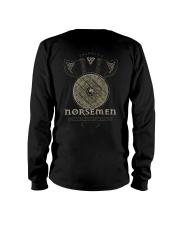 Viking Shirt : Norsemen kings of the battle axe Long Sleeve Tee thumbnail