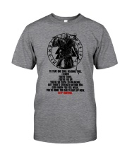 Too Far To Give Up - Keep Fighting - Viking Shirts Classic T-Shirt front