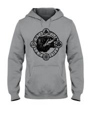 Viking Wolf Symbol Viking - Viking Shirt Hooded Sweatshirt thumbnail