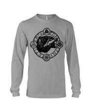 Viking Wolf Symbol Viking - Viking Shirt Long Sleeve Tee thumbnail