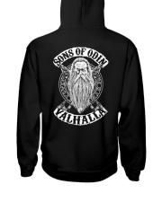 Son Of Odin - Valhalla - Viking Shirt Hooded Sweatshirt back