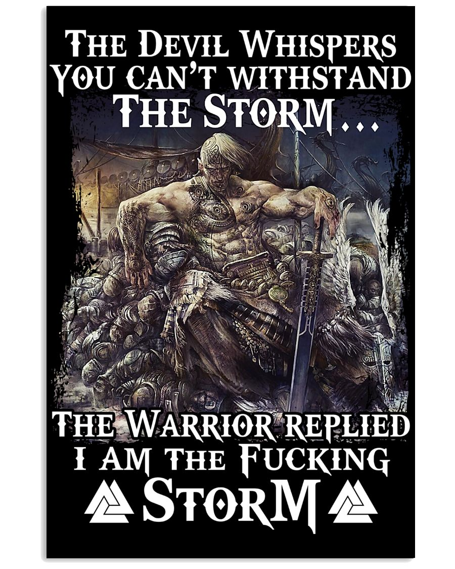 THE STORM - VIKING POSTERS 11x17 Poster
