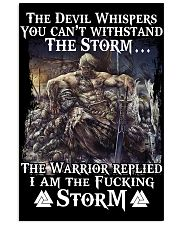 THE STORM - VIKING POSTERS 11x17 Poster front