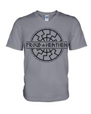 Proud Heathen  - VIKING T-SHIRTS V-Neck T-Shirt thumbnail