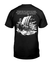 WHEREVER YOU KNOW OF HARM - VIKING T-SHIRTS Classic T-Shirt thumbnail