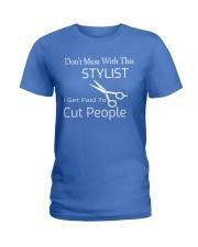HAIR STYLIST Ladies T-Shirt thumbnail