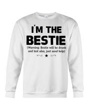 I'm The Bestie Crewneck Sweatshirt thumbnail