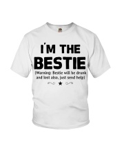 I'm The Bestie Youth T-Shirt thumbnail