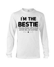 I'm The Bestie Long Sleeve Tee thumbnail