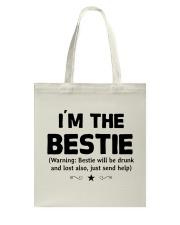 I'm The Bestie Tote Bag thumbnail